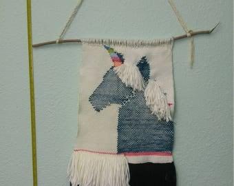 Rainbow Unicorn Tapestry
