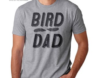 bird shirt bird dad bird papa bird father bird lover bird watching gift ornithology audubon nature hiking outdoor bird nerd bird feathers