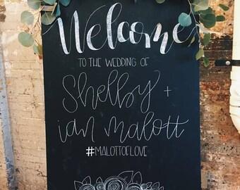 Custom Wedding & Event Sign