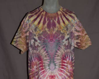Handmade Ice Dye T-Shirt: X-Large