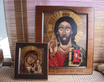 Icons in Marquetry