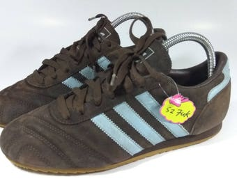 Rare!! 90s Vintage Adidas Sneakers Shoes Size 7UK 7.5US.