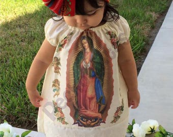 Virgin of Guadalupe girl dress