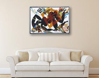 Acrylic Painting Erotic Art Art Painting Modern Art Original Painting Canvas Art Abstract Painting Abstract Wall Art Modern Art Nude
