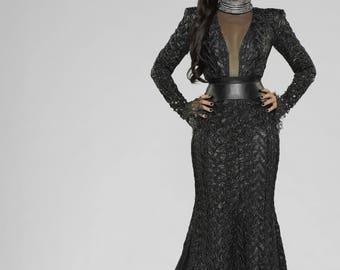 OUAT Evil Queen Regina Black Costume, Custom-made
