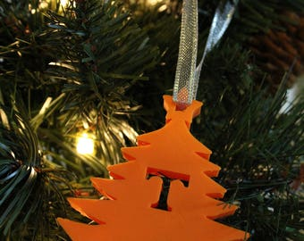 University of Tennessee Christmas Ornament Gift || Power T || Vols