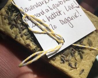 SLEEP Handmade Organic Lavender & Chamomile Soap (organic, cruelty- free)