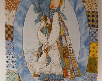 Quilted Wall Hanging - Holly Hobbie