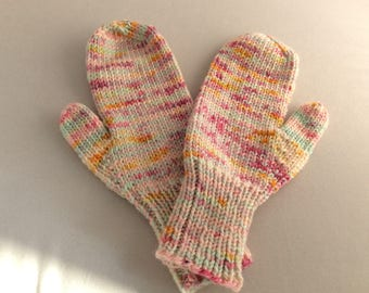 SW Merino Candy mitts (Med )