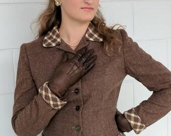Vintage 1950s Suit - Women's Wool Dress Suit by Lampl