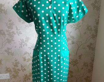 Vintage 1970s wiggle dress