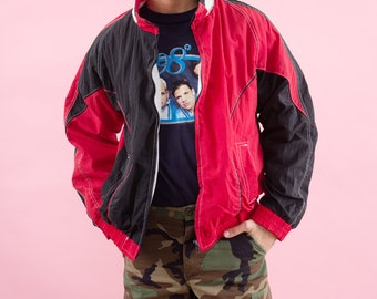 Spring Jacket, Windbreaker Jacket, 90s Windbreaker, 90s Clothing, Small, Lightweight Jacket, Track Jacket, 90s, Windbreaker, Minimal, Sports