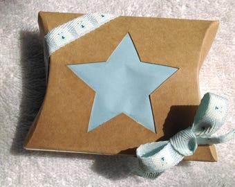 (set of 5) personalized rectangular gift box