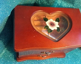 Large Vintage Jewlery Box