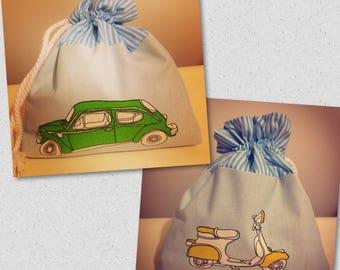 Vehicles wash bag