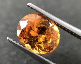 3.11 cts - Spessartite Garnet Natural Loose Gemstone - Oval