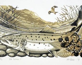 Usk Salmon I
