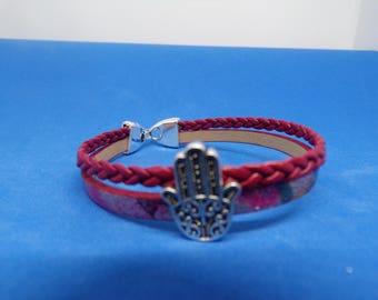 Bracelet with Pearl bead hand bandwidth