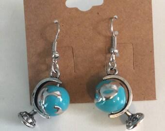 Globe Earrings