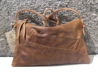 MAC 2 recycled leather bag