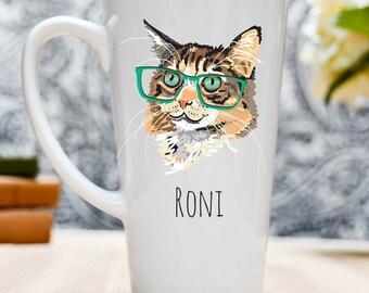 Cat Owner Gift, Cat Owner Mug, Funny Cat Mug, Cat Coffee Mug, Cat Lover Gift, Cat Mom Gift, Gift for Cat Owner, Fun Cat Lover Mug, Cat Mug