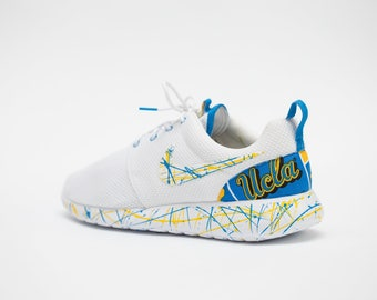 UCLA Bruins Nike Shoes Custom made by Legendary shoes available in all sizes