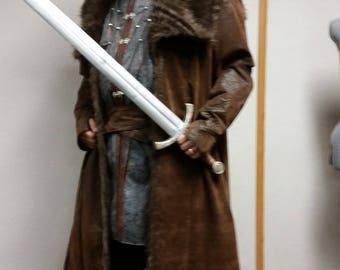 Men's renaissance warrior costume