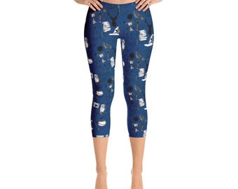 Wisdom Capri Leggings