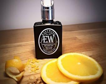 Professional Beard Oil in Mellow Orange aroma. Free UK Shipping & free gift bag