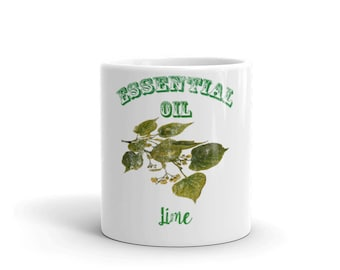 Essential Oil Lime Mug