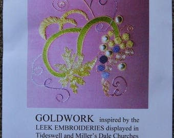 Gold Work Grapevine Embroidery Kit
