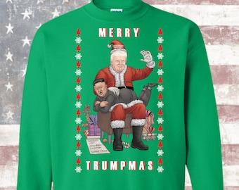 Donald Trump Ugly Christmas Sweater