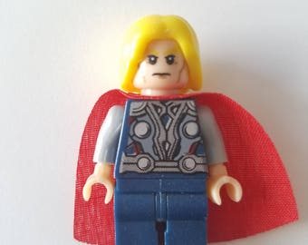 THOR LEGO Minifigure Toy  Popular Characters for Boys Girls Gift Collectors Item Favor Marvel DC Superhero Princess