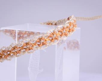 Beige Boho Bracelet, Macrame Bracelet, Bracelet Under 10, Cheap Bracelet, Hippy Bracelet, Surfer Jewelry, Natural Hippy Style, Hippy Jewelry