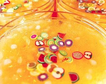 Kawaii Slime Company Passion Fruit Slushie Slime 6 oz