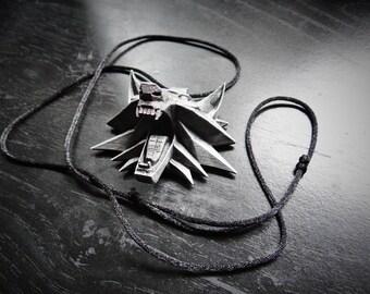 Witcher Medallion|The Witcher|Witcher 3|Witcher Necklace|Witcher|Witcher Cosplay|Geralt Pendant|Geralt Necklace|Witcher Pendant|Witcher wild