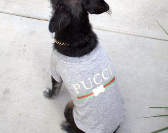 Pucci Designer Dog Shirt | Dog Tee | Dog Tshirt | Pet Clothing | Dog Clothing | Custom