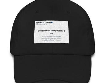 Blocked by Trump Hat