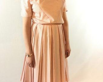 Candy(land) Striper Vintage Dress
