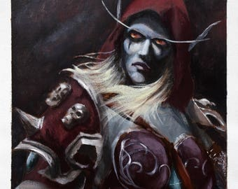 Sylvanas - High Quality Print
