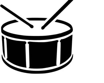 Snare Drum SVG Cutting File
