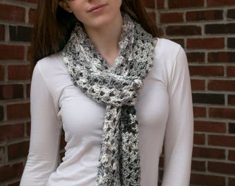 "The Lacey Scarf: ""Grayscale"""