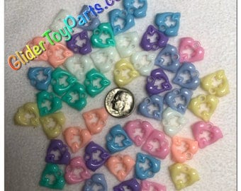 Dolphin Heart Charms [PSO101CW]
