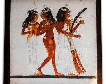 3 Female Musicians - Ancient Egypt