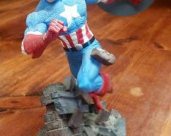 Captain America Resin Statue
