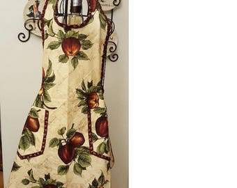 Red Delicious Apple Apron