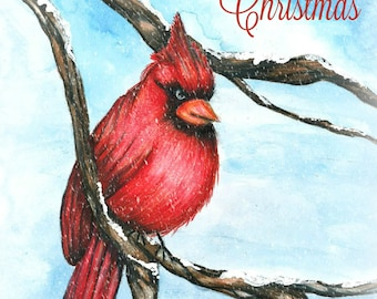Christmas Cardinal Download