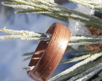 Black Walnut bentwood ring