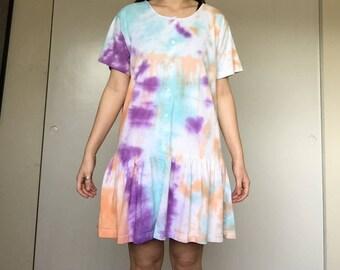 Tie Dye Dress/Swimsuit cover