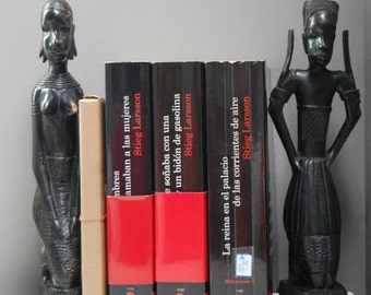 TWO African Book supports | Two supports for African style books